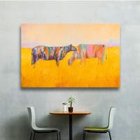 JC Pino's Grazing, Gallery Wrapped Canvas