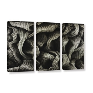 ArtWall John Sabraw's Clover, 3 Piece Gallery Wrapped Canvas Set