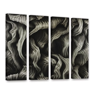 ArtWall John Sabraw's Clover, 4 Piece Gallery Wrapped Canvas Set