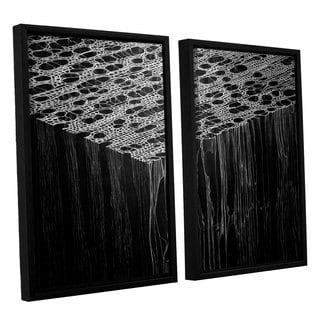 ArtWall John Sabraw's Precipice, 2 Piece Floater Framed Canvas Set