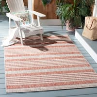 Safavieh Indoor/ Outdoor Courtyard Grey/ Blue Rug - 2'3 x 8'