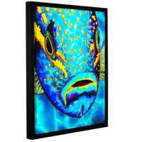 ArtWall Daniel Jean-Baptiste's Yellowtail Snapper, Gallery Wrapped Floater-framed Canvas - Multi