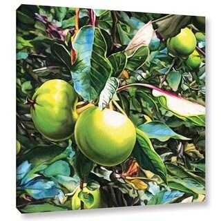 ArtWall Kelly Eddington's Apples, Gallery Wrapped Canvas