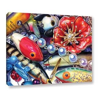ArtWall Kelly Eddington's Big Allure, Gallery Wrapped Canvas