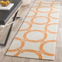 Safavieh Hand-Hooked Four Seasons Ivory / Brown Polyester Rug - 2'3 x 8'