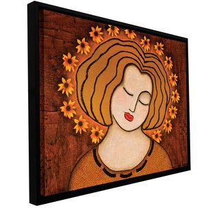 ArtWall Gloria Rothrock's Flowering Intuition , Gallery Wrapped Floater-framed Canvas