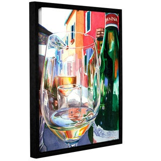 ArtWall Kelly Eddington's Burano Glass, Gallery Wrapped Floater-framed Canvas