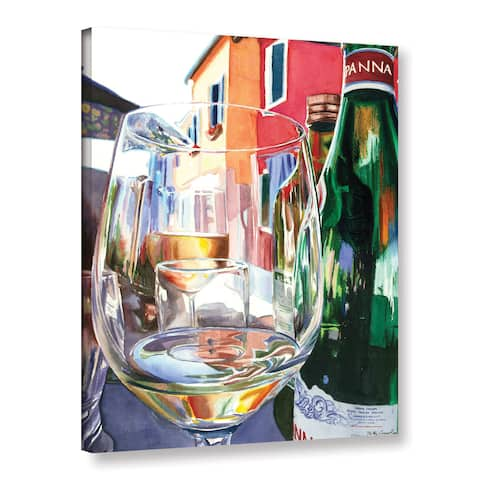 ArtWall Kelly Eddington's Burano Glass, Gallery Wrapped Canvas
