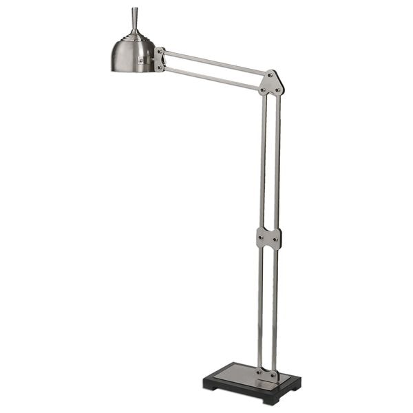 Amado Brushed Nickel Floor Lamp