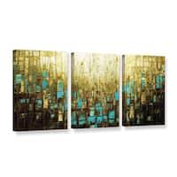 ArtWall Susanna Shaposhnikova's Abstract Neutral 2, 3 Piece Gallery Wrapped Canvas Set