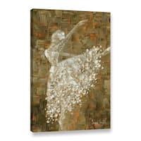 ArtWall Susanna Shaposhnikova's Ballerina, Gallery Wrapped Canvas