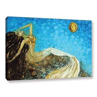 ArtWall Susanna Shaposhnikova's Mermaid, Gallery Wrapped Canvas