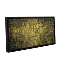 ArtWall Susanna Shaposhnikova's Olive, Gallery Wrapped Floater-framed Canvas
