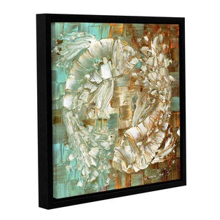 ArtWall Susanna Shaposhnikova's Koi, Gallery Wrapped Floater-framed Canvas