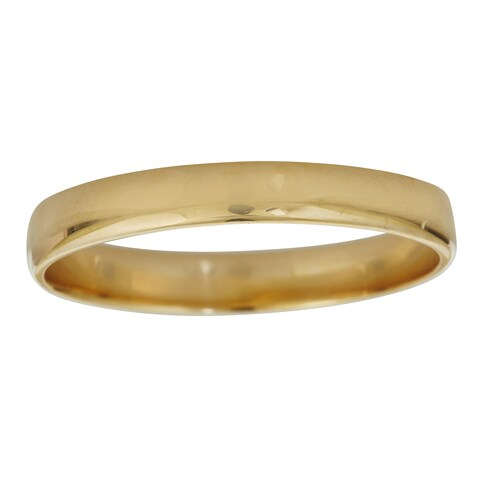 Decadence 14k Yellow or White Gold 3mm Wedding Band Ring