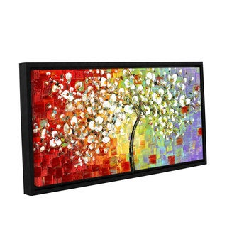 ArtWall Susanna Shaposhnikova's Multi Tree, Gallery Wrapped Floater-framed Canvas