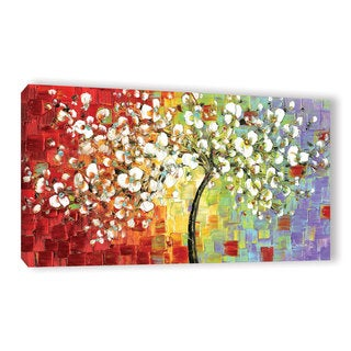 ArtWall Susanna Shaposhnikova's Multi Tree, Gallery Wrapped Canvas