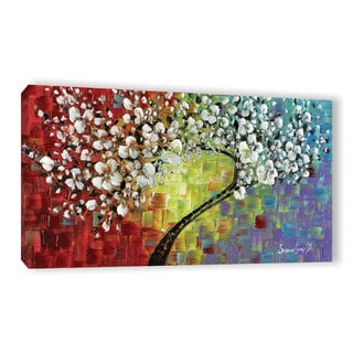 ArtWall Susanna Shaposhnikova's Multi Tree 2, Gallery Wrapped Canvas
