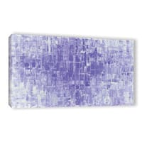 ArtWall Susanna Shaposhnikova's Purple White, Gallery Wrapped Canvas - Multi