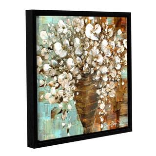 ArtWall Susanna Shaposhnikova's White Bouquet, Gallery Wrapped Floater-framed Canvas