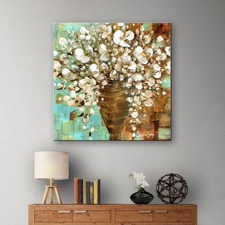 ArtWall Susanna Shaposhnikova's White Bouquet, Gallery Wrapped Canvas