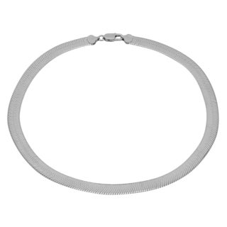 Sterling Essentials Silver 9 mm Italian Magic Chain (18-20 inches)