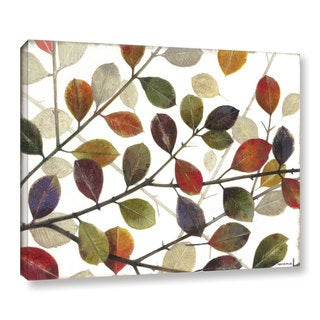 ArtWall Norman Wyatt JR's Autumn Leaves, Gallery Wrapped Canvas