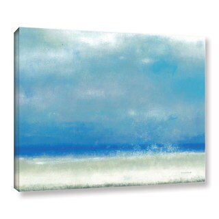 ArtWall Norman Wyatt JR's Blue Horizon 1, Gallery Wrapped Canvas