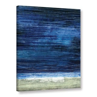 ArtWall Norman Wyatt JR's Midnight Desert Coast, Gallery Wrapped Canvas