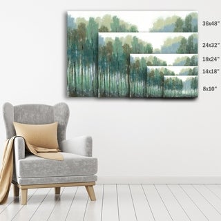 ArtWall Norman Wyatt JR's Somber Coastline, Gallery Wrapped Canvas (5 options available)