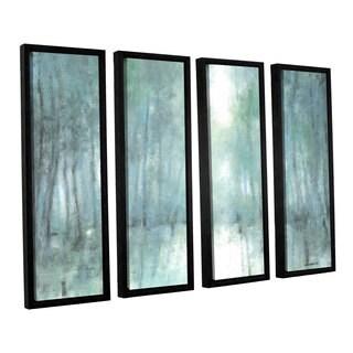 ArtWall Norman Wyatt JR's Crisp Breeze, 4 Piece Floater Framed Canvas Set