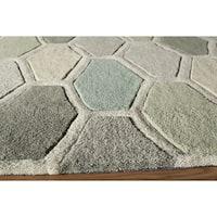 "Momeni Bliss Multicolor Stiles Hexagon Hand-Tufted Rug - Multi - 3'6"" x 5'6"""