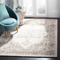 Safavieh Carmel Vintage Beige/ Brown Distressed Rug - 5'1 x 7'6