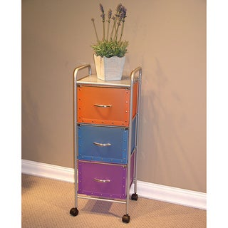 3 Drawer Multi-Color Chest