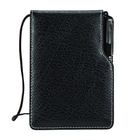 Leather Notepad Jotter Holder