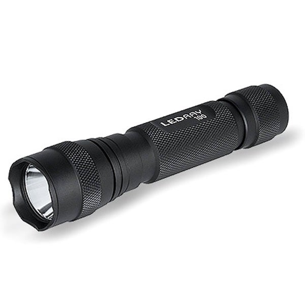 Tracer Lighting Trlr3503 185 Meter Red LED Beam Tactical Lights 180 Lumens LED Ray 100 Flashlight