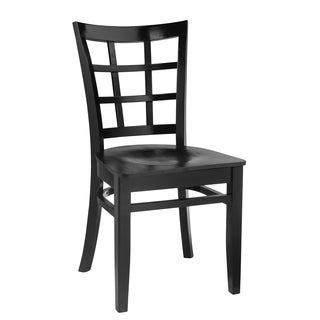 Window Pane Dining Chairs (Set of 2)
