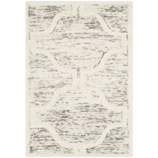 Safavieh Handmade Cambridge Light Brown/ Ivory Wool Rug (2' x 3')