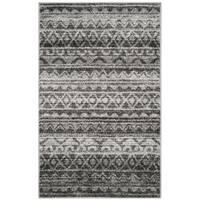 Safavieh Adirondack Modern Boho Ivory / Charcoal Rug (3' x 5')
