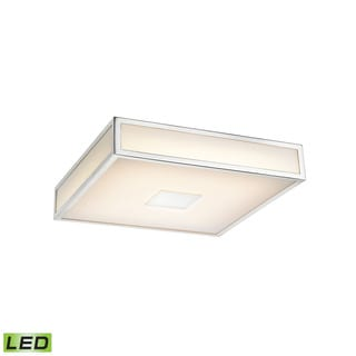 Alico Hampstead 1 Light LED Flush mount In Chrome