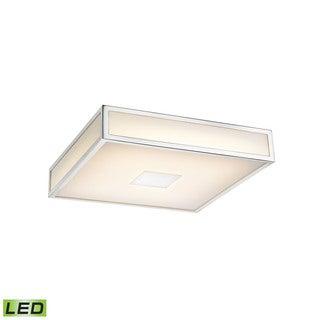 Alico Hampstead 1 Light LED Flush mount In Chrome