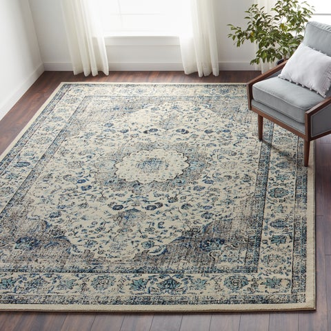 Safavieh Evoke Vintage Oriental Grey and Ivory Distressed Rug - 8' x 10'