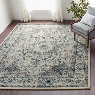 Safavieh Evoke Vintage Oriental Grey / Ivory Distressed Rug (8' x 10')|https://ak1.ostkcdn.com/images/products/11040976/P18054265.jpg?_ostk_perf_=percv&impolicy=medium