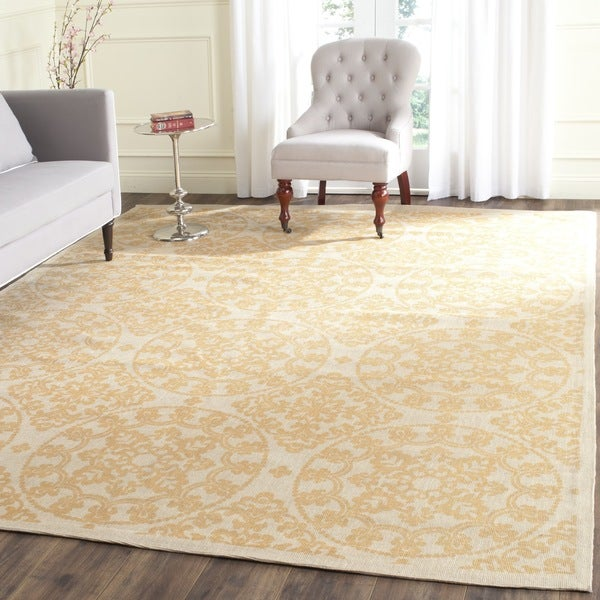 Safavieh Handmade Cedar Brook Natural/ Gold Jute Rug - 8' x 10'