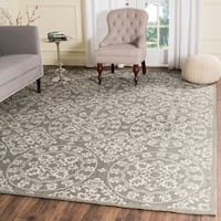 Safavieh Handmade Cedar Brook Grey/ Natural Jute Rug - 8' x 10'