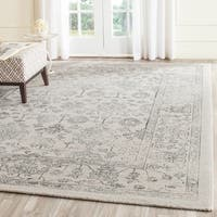 Safavieh Carmel Vintage Beige/ Blue Distressed Area Rug - 8' x 10'