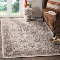 Safavieh Artisan Vintage Ivory/ Brown Distressed Area Rug - 10' x 14'