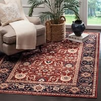 Safavieh Artisan Vintage Rust/ Navy Distressed Area Rug - 10' x 14'