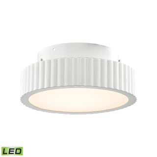 Alico Digby 10 Watt LED Flush mount In Matte White