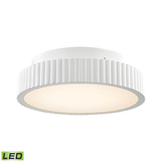 Alico Digby 24 Watt LED Flush mount In Matte White